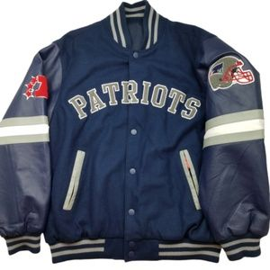 New England Patriots Reversible Bomber Jacket